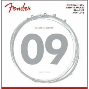 Fender Original 150L Pure Nickel Wound 9-42 Electric Guitar Strings