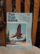 Fur Fish Game June 1958 hells canyon country