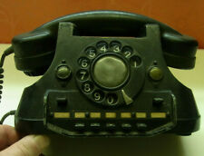 Telephone altes Telefon  PTT BASTLER SAMMLER Metall