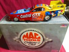 AUTOGRAPHED, JOHN FORCE, 1/24 ACTION 1999 FUNNY CAR, CASTROLGTX--SUPERMAN