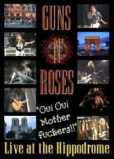 GUNS N ROSES LIVE IN PARIS  1992 DVD   I ACCEPT PAYPAL!!!