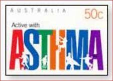 AUS0323 Astma 1 stamp