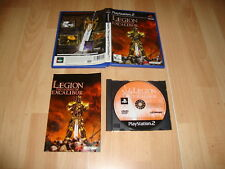 LEGION THE LEGEND OF EXCALIBUR DE MIDWAY PARA LA SONY PS2 USADO COMPLETO