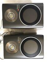 Rare Technics SB-F2MK2 Honeycomb Disc Speaker System 2-Way Cabinet Speakers