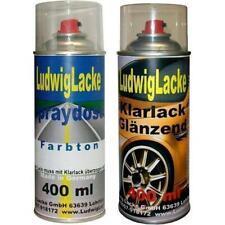 Kometgrau 748 Autolack Klarlack je 400ml für Mercedes Spraydosen Ludwiglacke