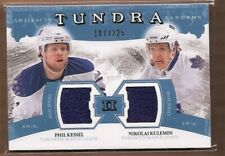11-12 Artifacts Tundra Tandems Jerseys Blue Phil Kessel/Nikolai Kulemin 107/225