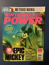 New listing 2010 Nintendo Power Magazine 259 October Wii Epic Mickey Mouse NewsStand Variant