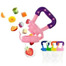 Food Grade Silicone Baby Pacifier Fresh Fruit Food Kids Nipple Feeding Pacifiers