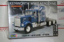 Revell 85-1507 Kenworth W900 Aerodyne Semi Tractor 1/25 Scale Plastic model kit