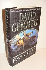 Ravenheart by David Gemmell UK 1st/1st 2001 Bantam Press Hardcover