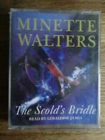 Minette Walters The Scold's Bridle read by Geraldine James 2 Cassette Audio Book