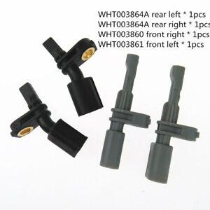 4pcs Left Right Front Rear OPS Auto Parking ABS Wheel Around Speed Sensor Kit