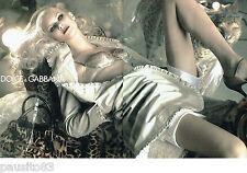 PUBLICITE ADVERTISING  046  2006 Dolce & Gabbana sous vetements (2p) Amber Heard