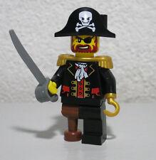 Captain Brickbeard Pirates II 6299 6243 6253 LEGO Minifigure Mini Figure Fig