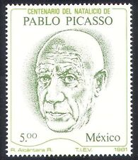 Mexico 1981 Picasso/Art/Artists/People/Painters 1v (/n39932)