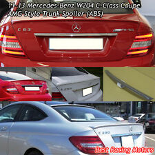 A Style Trunk Spoiler Wing (ABS) Fits 11-15 Mercedes-Benz W204 C-Class Coupe