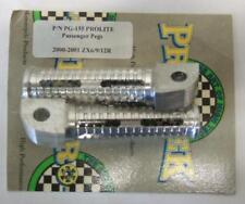 Pro Tek Ninja ZX-6R ZX-9R ZX-10R ZX-12R ZX-14 Z1000 Passenger Pegs SILVER