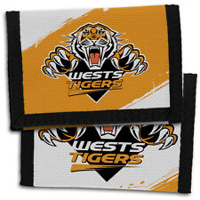 Wests Tigers NRL Sports Wallet **NRL OFFICIAL MERCHANDISE**