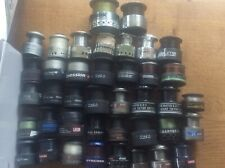 Joblot Collection 40 Fishing Reel Spare Spools various makes some with line
