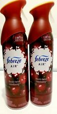Febreze Air Limited Edition Fresh Twist Cranberry 2 Pack Freshener Spray NEW