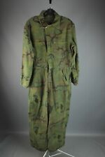 Vtg Men's 1950s 1960s Cotton Camo Hunting Coveralls Medium Reg 50s 60s #7556