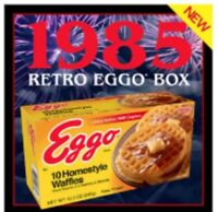 Stranger Things Eggo 1985 Limited Edition Graphics Box - Eleven Cosplay Waffles