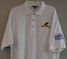USFL Michigan Panthers  Embroidered Mens Pocket Polo XS-6XL, LT-4XLT New