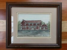 Ellen Jones Old Buckley's Store Heart in Hand Trattoria Villagio Signed Print