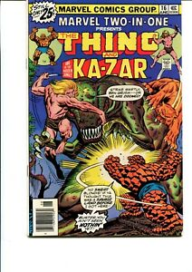 MARVEL TWO IN ONE #16  VF