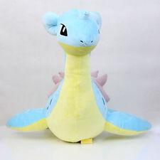 "Pokemon Center Large Lapras 19"" Plush Doll Stuffed Animal Collection Toy New"