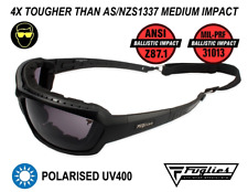Fuglies ADF8 Tactical Ballistic Sunglasses - ANSI Z87.1 Ballistic Rated