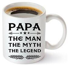 11 oz Ceramic Coffee Mug Cup PAPA The Man Myth Legend Father Dad Grandpa Day