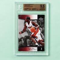 2004-05 Upper Deck Sweet Shot # 44 Dwyane Wade Card, BGS 9.5 Gem Mint