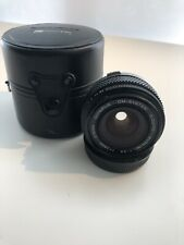 Olympus OM-System G. Zuiko Auto-W 28mm f/3.5 Prime Lens and Case EXC condition
