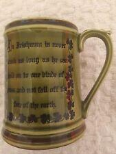 Vintage Irish Enesco Beer Stein, Mug, Tankard - made in japan