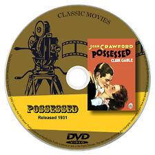 Possessed 1931 DVD Film Joan Crawford, Clark Gable - Drama, Romance, Film Noir
