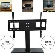 Universal TV Standfuß 32-55Zoll 80-140cm LCD LED PLASMA Halter Fernseher Ständer