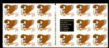 STATI UNITI - 1992 - Aquila e stemma (iscrizioni in rosso) in minifoglio di 17