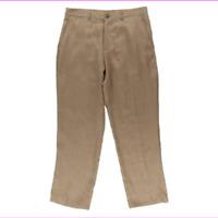 Tasso Elba Island Men's Flat Front Linen Casual Pants