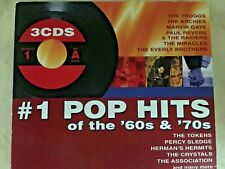 #1 Pop Hits of the 60's & 70's [2005 Madacy] [Digipak] by Various Artists (Cd, J
