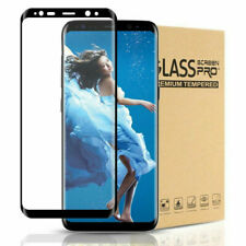 2X Samsung Galaxy S8 Screen Protector 9H Real Tempered Glass NEW