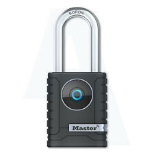 Master Lock 4401EURDLH Internal Long Shackle Bluetooth Smart Access App Padlock