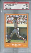 BILL BUCKNER Dodgers Cubs 1988 Score Glossy #591 PSA 10