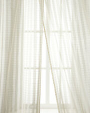 100% silk sheer drapes Lyon (Also sold by Neiman Marcus)