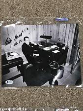 CLINT HILL JFK's Secret Service Agent Signed Autographed 8x10 Photo**COA Beckett