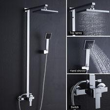 Duschkopf Duschsystem Duschpaneel Duschsäule Regendusche Set Duscharmatur DHL
