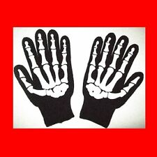 NEW KNIT XMAS CHRISTMAS GIFT-SKELETON GLOVES:STORAGE WAR-BARRY WEISS STYLE BIKER