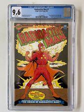 Radioactive Man #1 CGC Graded 9.6 *Glow in the Dark Cover* -  Bongo Comics 1993
