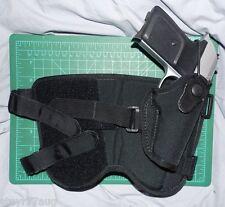 Bianchi Triad 4750 Black Nylon & Velcro Ankle Holster SIG P230 PPK Pony Tomcat