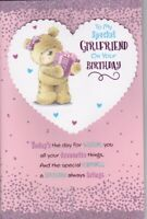 Girlfriend Birthday Card Large Special 8 Page Verse Card